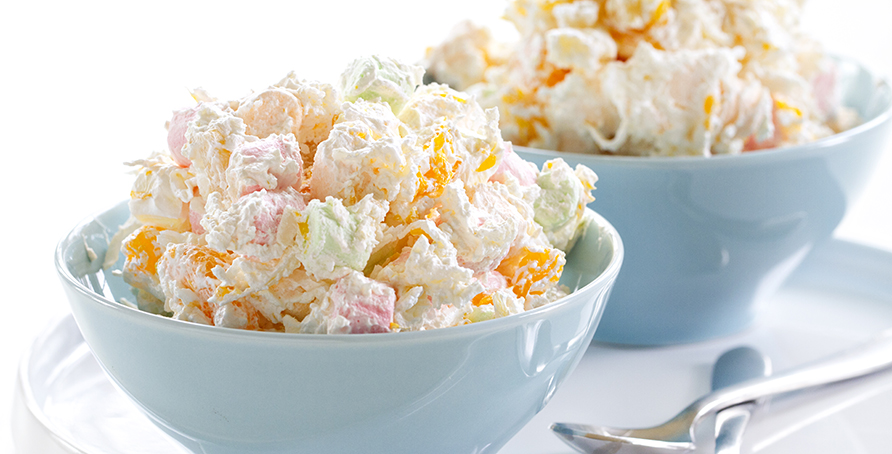 Hawaiian Salad Campfire Marshmallows