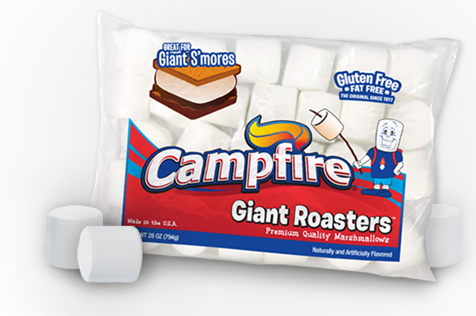 Giant Roasters Campfire Marshmallows
