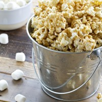 Easy Marshmallow Caramel Corn