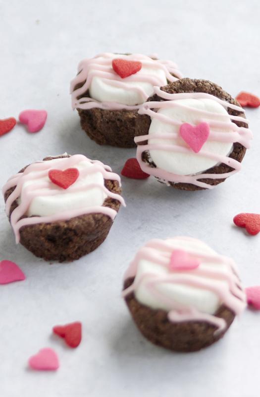 Valentine Brownie: Valentine's Day Brownie Bites