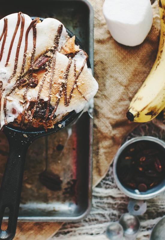 more Banana Bread Pudding Recipe | Campfire Marshmallows