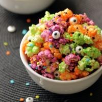Halloween Marshmallow Popcorn