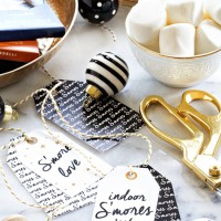 Indoor Smores Kit Gift Tag