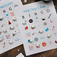 New Years Eve Kids Bingo Printable
