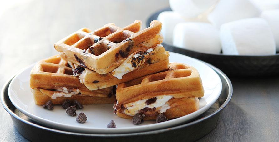 Waffle Smore large