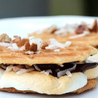German Chocolate S'mores