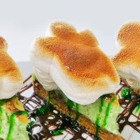 Ghostbusters Key Lime S'more Cheesecake