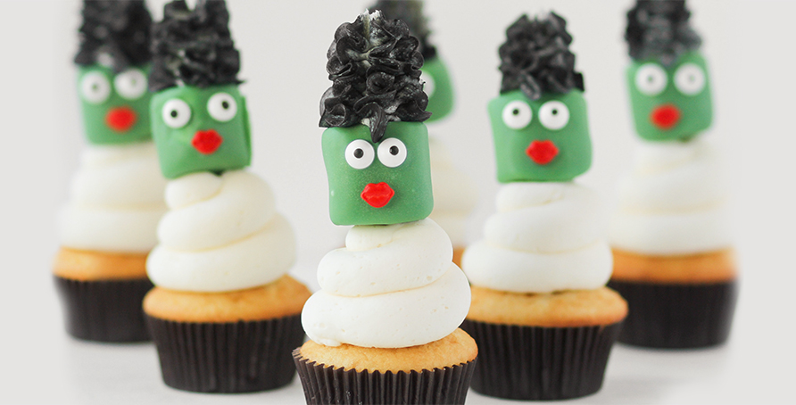 Bride of Frankenstein Cupcake Toppers
