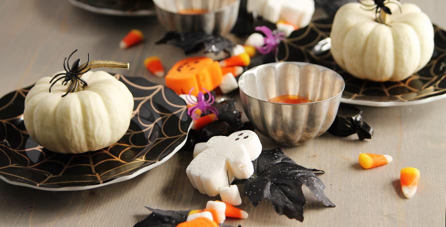 Halloween Marshmallow Garland Craft Decor