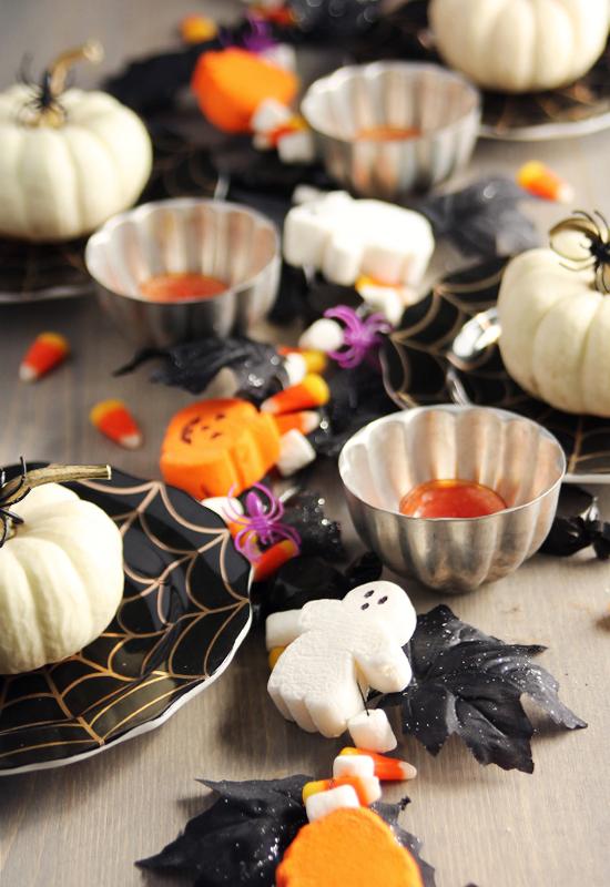 Halloween Marshmallow Garland