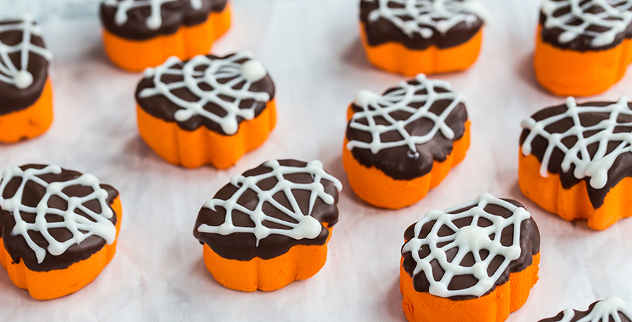 Spider Dipped Hallow Mallows