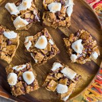 Maple Marshmallow S'mores Treats