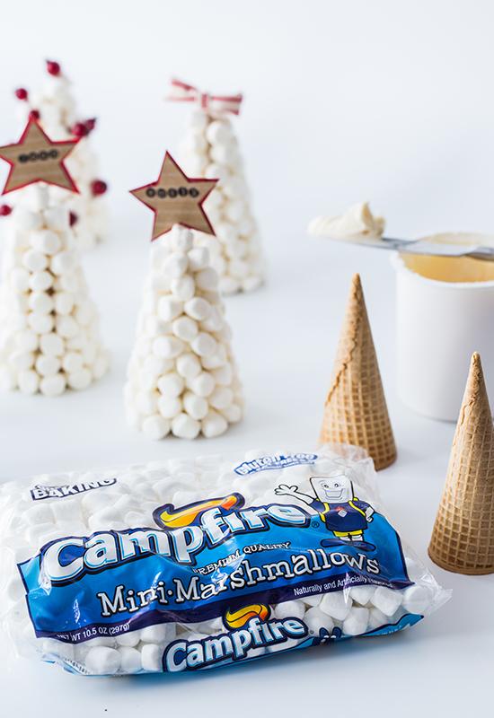 Campfire Mini Marshmallow Trees