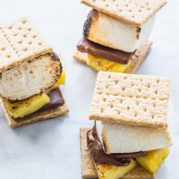 Grilled Pineapple S'mores Recipe