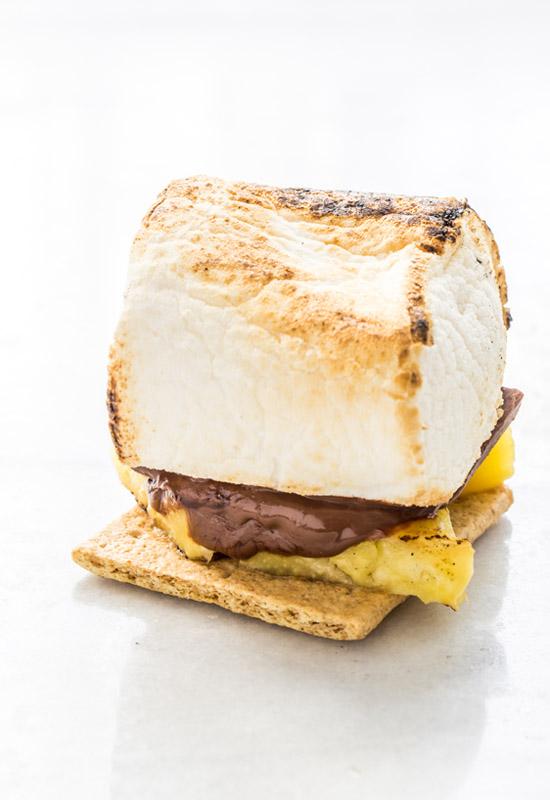 How to make Grilled Pineapple S'mores