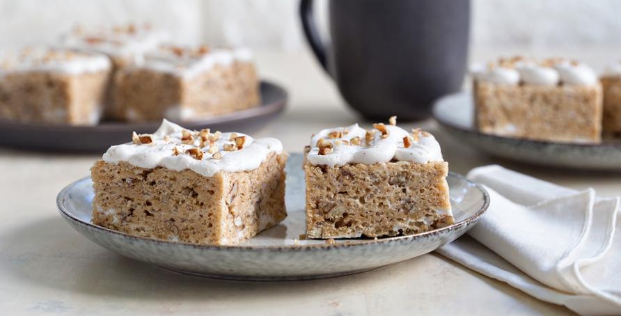 Maple Cinnamon Marshmallow Treats Image