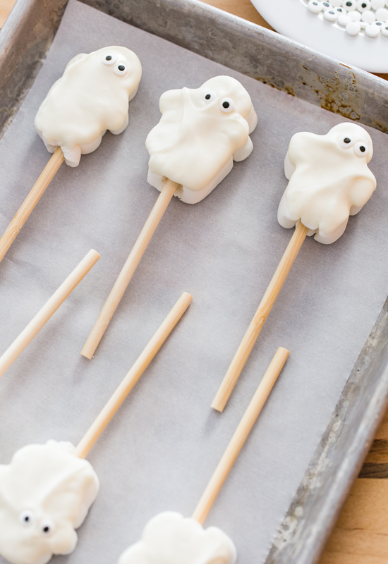 Marshmallow Ghost Hot Chooclate Toppers