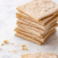 stacked up Gluten Free Graham Crackers