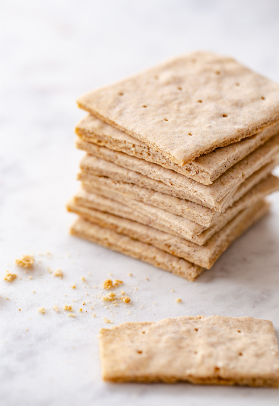 stack of Gluten Free Graham Crackers