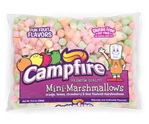 Mini Fruit Marshmallows product bag