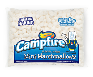 Mini White Marshmallows product bag
