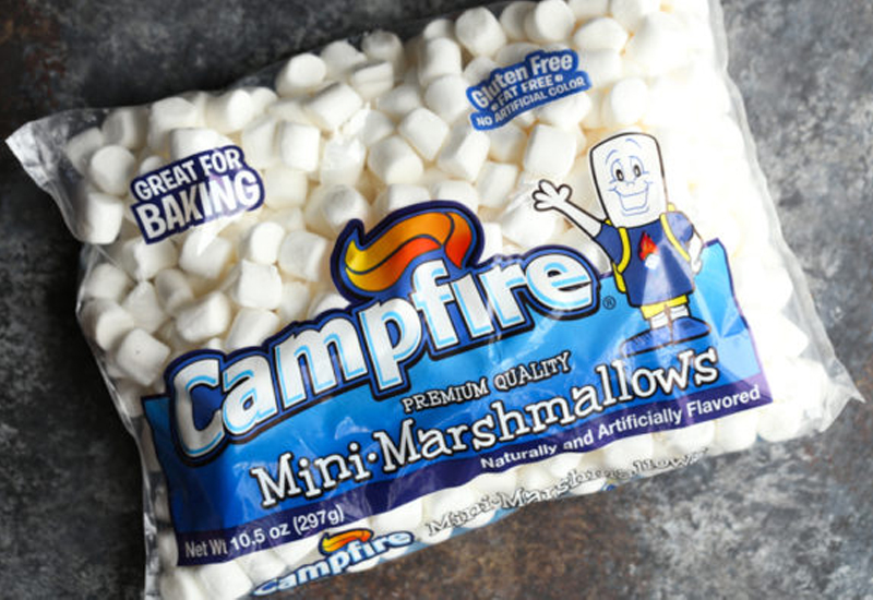 package of Campfire Mini White Marshmallows