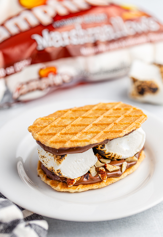 Toasted Hazelnut S'mores with Campfire Marshmallow package